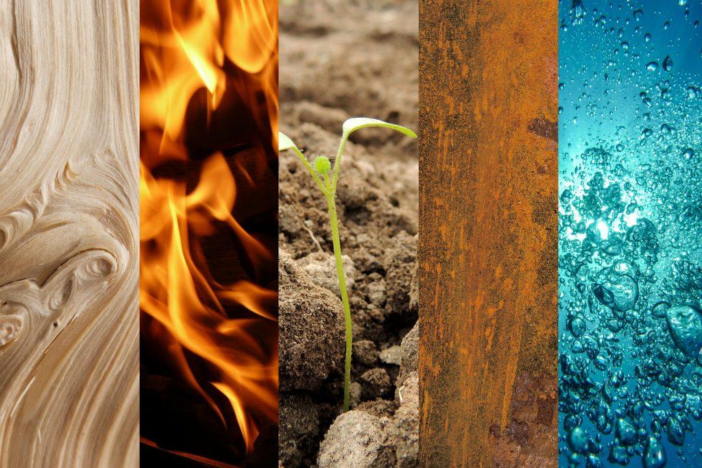 Entrer en communion avec un des 4 éléments
