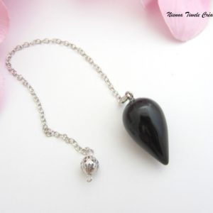 Pendule Onyx noir